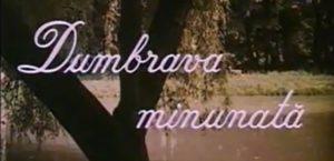 filme romanesti pentru copii Dumbrava minunata