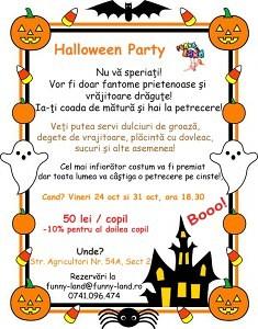 Halloween Party. Petrecere de Halloween. Petrecere pentru copii.