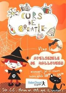 Curs de creatie Halloween English Workshop