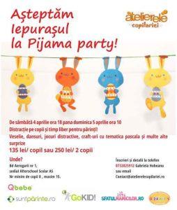 petrecere in pijama