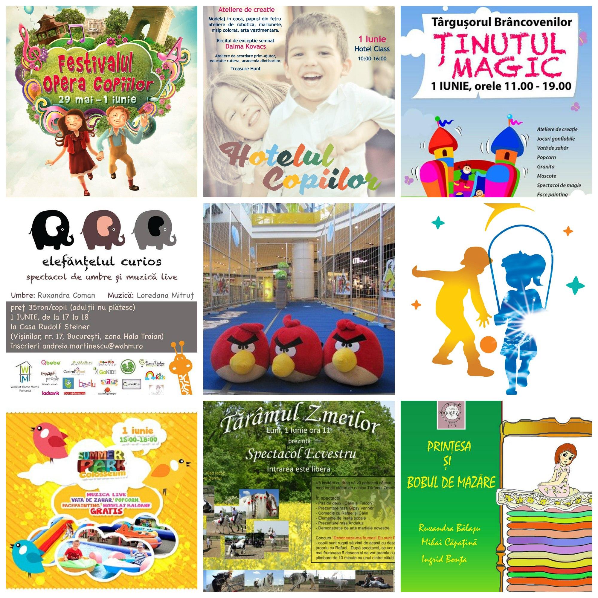 Evenimente Gratuite Pentru Copii De 1 Iunie Ziua Copilului