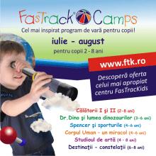 fastrackids summer camp
