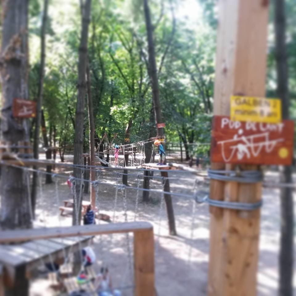 Parc de aventura Herastrau