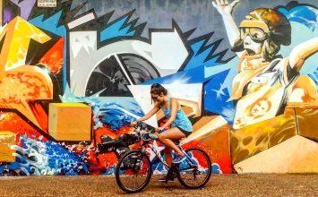 Unde Ieşim cu Copilul Azi fata bicicleta graffiti gokid evenimente azi