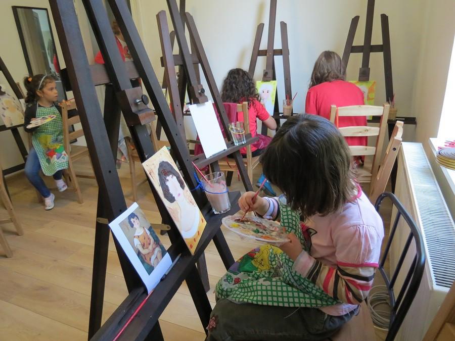 Curs de pictura copii Bucuresti