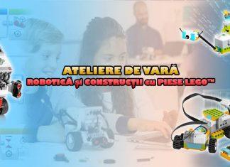 Ateliere de Vară de Robotică şi Construcţii cu Piese LEGO® la Edu Bricks