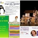 Evenimente gratuite si activitati pentru copii si parinti 11 13 septembrie 2015