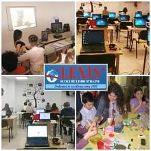 scoli de limbi straine lexis cu logo