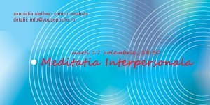 Introducere in practica Meditatiei Interpersonale