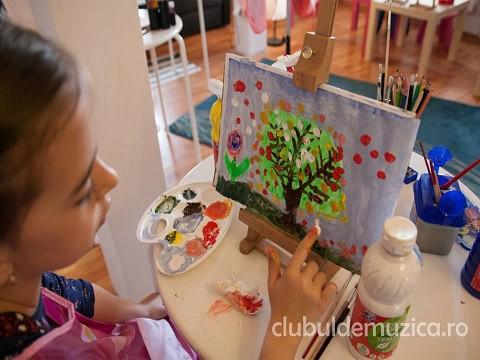 cursuri copii pictura