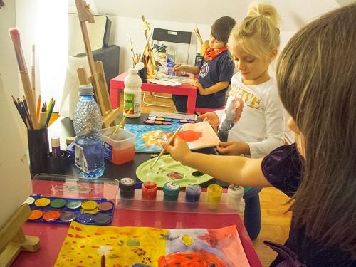 cursuri pictura copii
