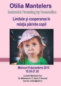 limitele si cooperarea otilia mantelers 9 decembrie