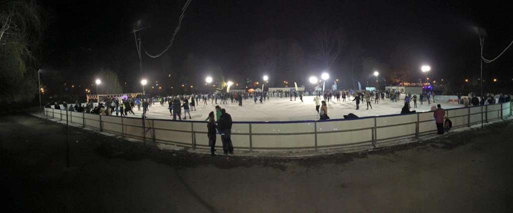 patinoar cismigiu panoramic