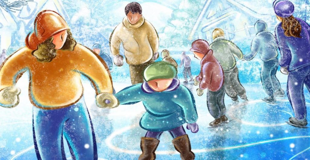patinoarul-kiseleff-ilustratie
