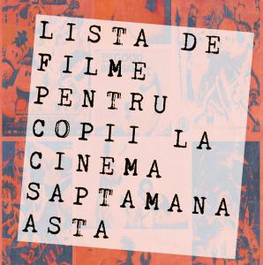 filme pentru copii la cinema