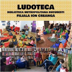 Ludoteca de la Biblioteca Metropolitana Bucuresti Ludoteca Filiala Ion Creanga