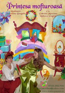 spectacol pentru copii la Lente