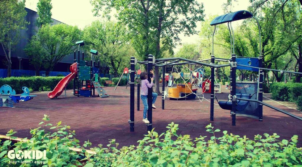 Parcul IOR locuri de joaca