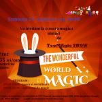 Spectacol de magie pentru copii