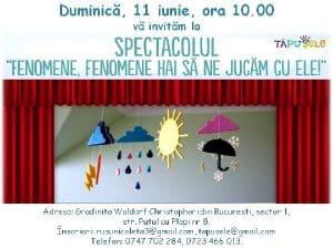 Spectacol pentru copii de 2-5 ani