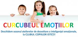 """Ateliere de dezvoltare a inteligentei emotionale """"Curcubeul emotiilor"""""""
