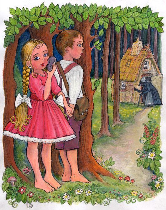 Hansel si Gretel. Desene animate dublate in romana