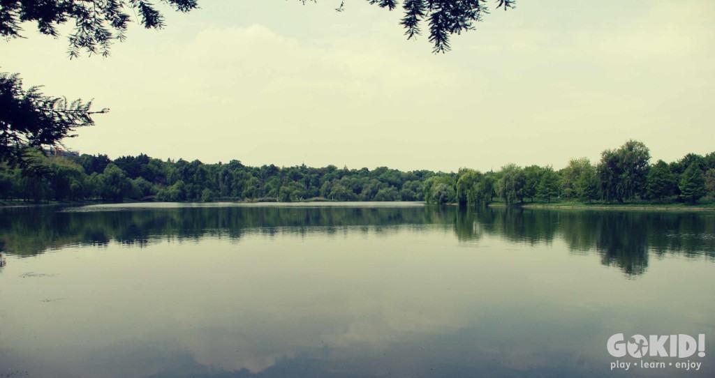 Parcul Tineretului lac liniste
