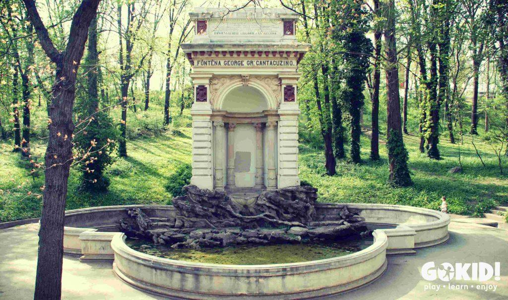 Parcul Carol Fantana Cantacuzino