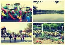 Parcul Tineretului colaj
