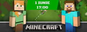 """Participă gratuit la """"Hour of Code – Minecraft"""""""
