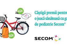 Castiga premii pentru o joaca sanatoasa cu gama de pediatrie Secom®