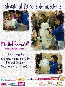 Gheata Program MiniArtShow in luna Iulie. Intrare libera!