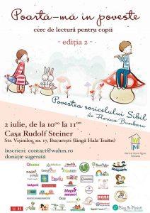 Atelier de lectura pentru copii Povestea Soricelului Sibil