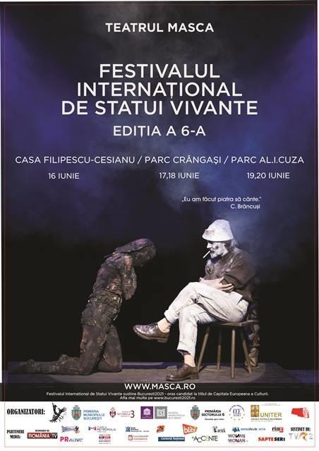 Festivalul International de Statui Vivante 2016
