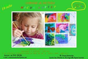 Cursuri pictura pentru copii 4-10 ani Micul Artist