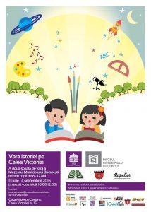 Vara istoriei pe Calea Victoriei cu ateliere pentru copii