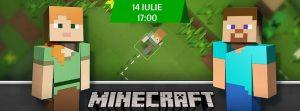 """Participă la """"Hour of Code – Minecraft"""" și învață bazele programării!"""