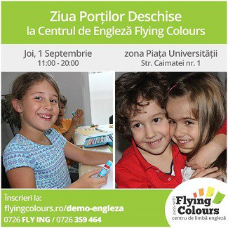 Engleza copii Flying Colours