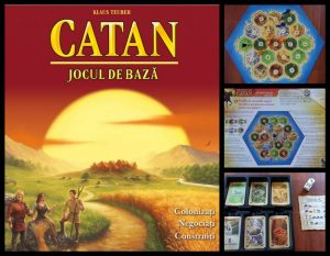 Colonistii din Catan joc boardgame review