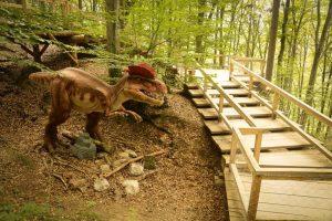 parc cu dinozauri Dino Parc Rasnov