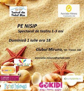 Pe Nisip spectacol clubul Miruna