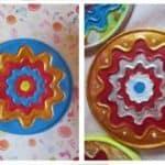 """Atelier de pictură """"Tablou mandala"""" 4-10 ani rep"""