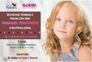 Dezvoltare Personală Pentru Copii Prin Programul PsihoArmonie 2017