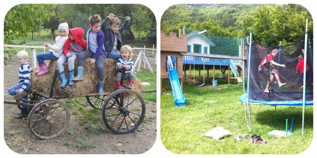 Excursii de Weekend În Familie la Sub 200 km de Bucureşti copii Ferma de sub Penteleu