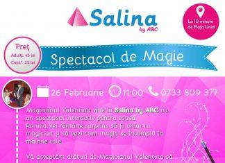 Spectacol de magie Salina By ABC
