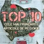 TOP 10 Cele Mai Frunzărite Articole de pe GOKID