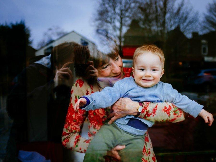 viață ușoară cu copilul bunica