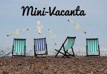 Mini-Vacanţă de 5 zile de Ziua Naţională a Romăniei scaune plaja pescarusi