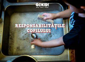 responsabilităţile copilului