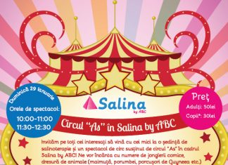spectacol de circ la Salina by ABC